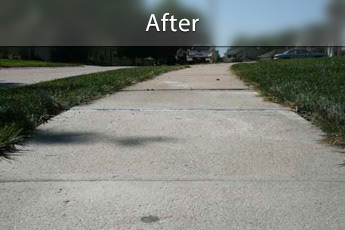 Fixing sunken concrete with PolyLevel® in Syracuse